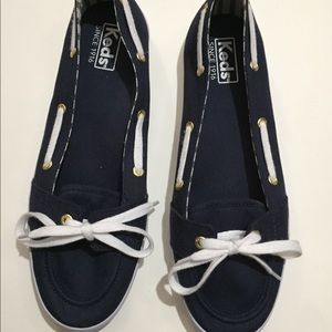 NEW Keds blue/white sailor style size 9